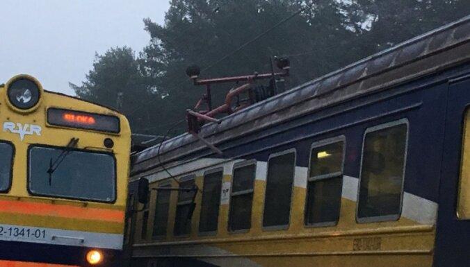 Atjaunota vilcienu kustība posmā Sloka-Dubulti
