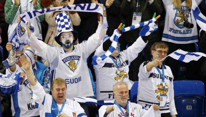 Somija pauž gatavību izvērtēt iespēju rīkot 2021. gada PČ hokejā