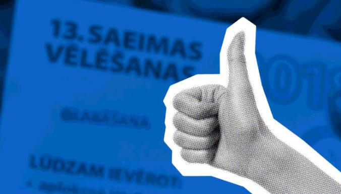 Ekskluzīva aptauja: Saeimas vēlēšanu rezultāti iepriecinājuši katru trešo iedzīvotāju