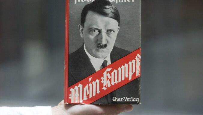 'Mein Kampf' Vācijā kļuvis par bestselleru
