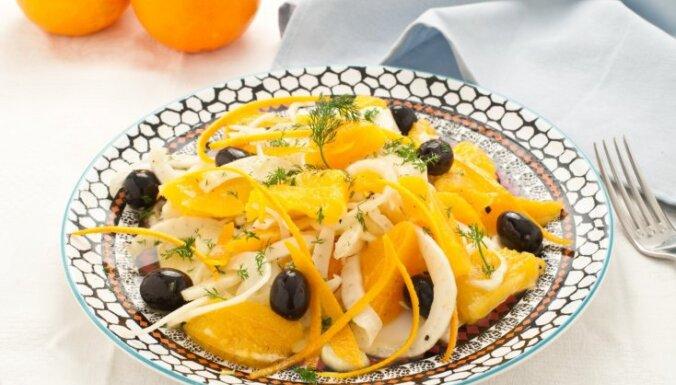 Atsvaidzinošie sicīliešu salāti