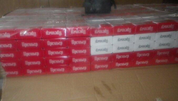 VID akmeņogļu kravā uziet 740 tūkstošus kontrabandas cigarešu