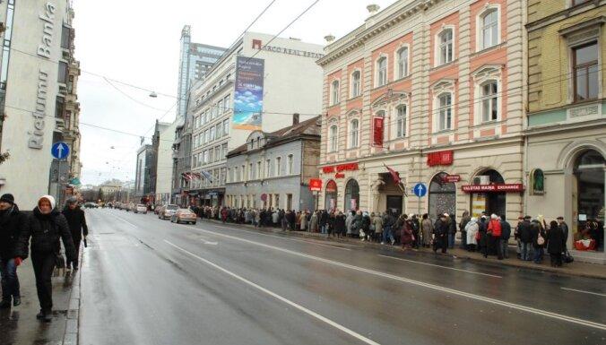 Выборы в Госдуму РФ: в Риге на участках огромные очереди