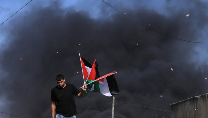 Vācija pauž bažas par palestīniešu teritoriju aneksiju