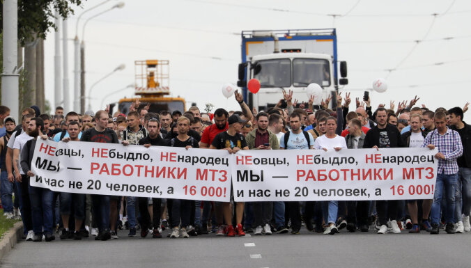 Беларусь: еще два предприятия присоединились к забастовке
