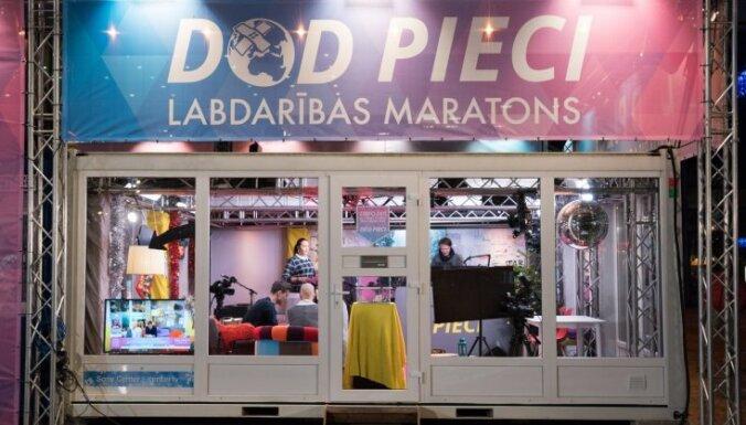 Labdarības maratonā 'Dod pieci!' onkoloģisko pacientu atbalstam saziedoti 90 051 eiro