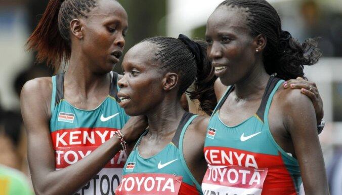 Кенийские легкоатлетки установили уникальное достижение
