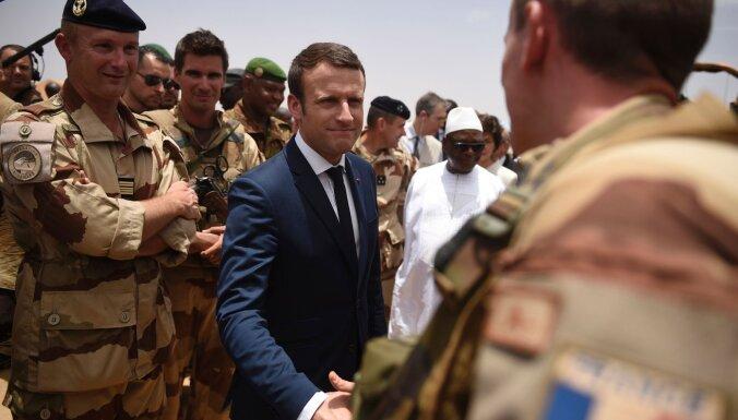 Francija Rietumāfrikā nav koloniālu vai ekonomisku apsvērumu dēļ, apgalvo Makrons