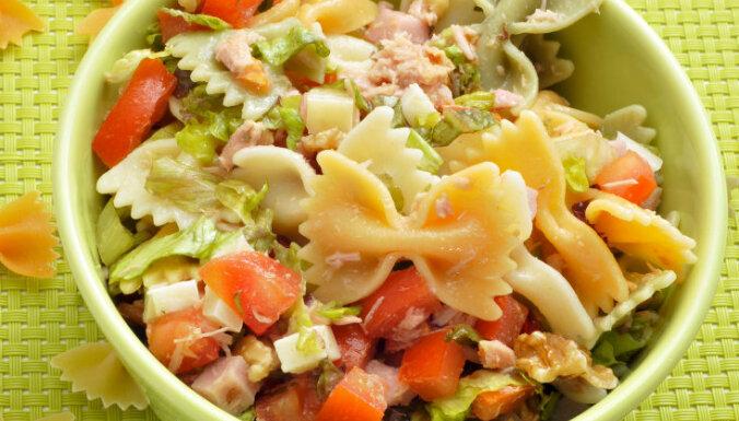 Tunča salāti ar makaroniem