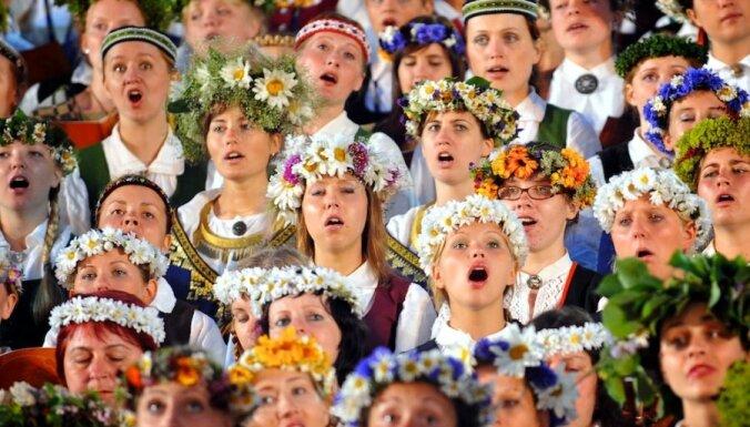 Можно ли петь по-латгальски, в стиле рэп и сольно. Ученые обсудили, как правильно исполнять гимн Латвии