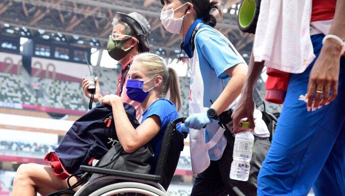 Звезда легкой атлетики из России покинула Олимпиаду в инвалидном кресле