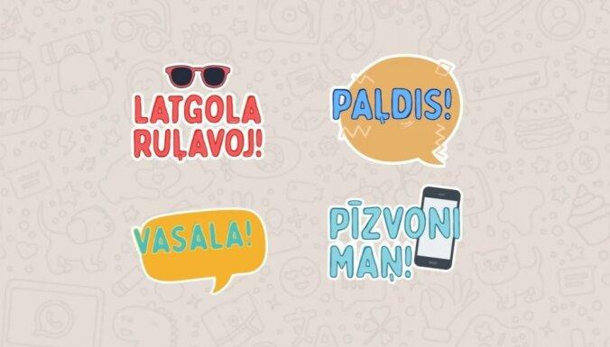 """""""Latgola ruļavoj!"""". Для WhatsApp выпустили приложение со стикерами на латгальском"""