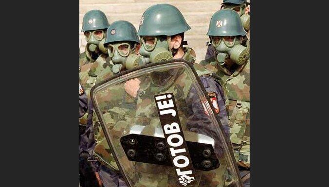 Правительственные войска готовятся к газовой атаке
