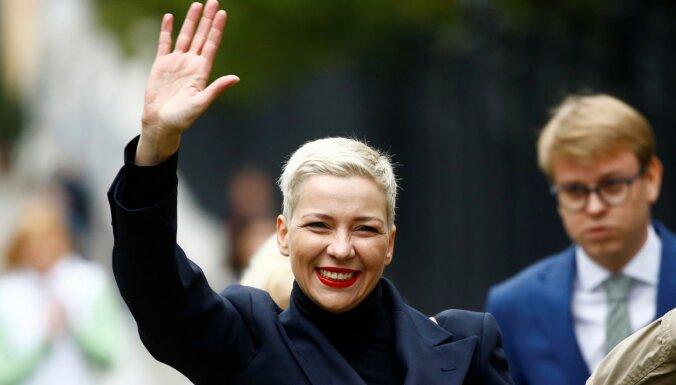 Госдепартамент США заочно наградил Марию Колесникову премией за мужество
