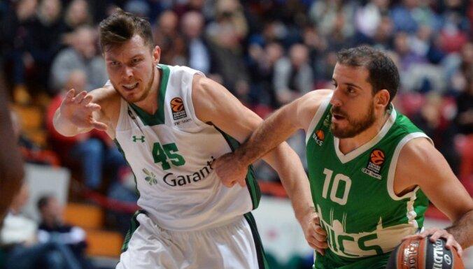 Bertāns ar astoņiem punktiem palīdz 'Dariššafaka Doguš' izcīnīt uzvaru Turcijas čempionātā