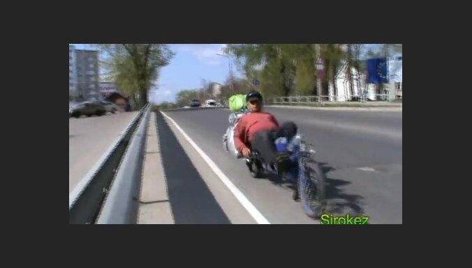 Внимание, ребёнок на магистрали! Обознался... (видео)