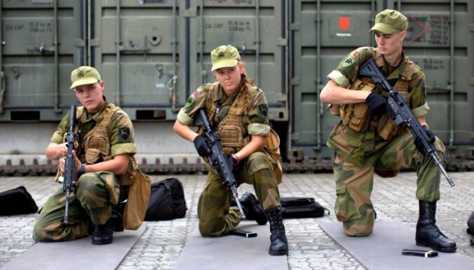 Norvēģija Krievijas pierobežā dislocēs bruņutehnikas bataljonu