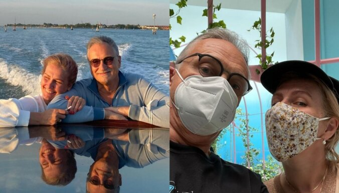 ФОТО: Миллионер Янис Зузанс наслаждается жизнью с новой возлюбленной