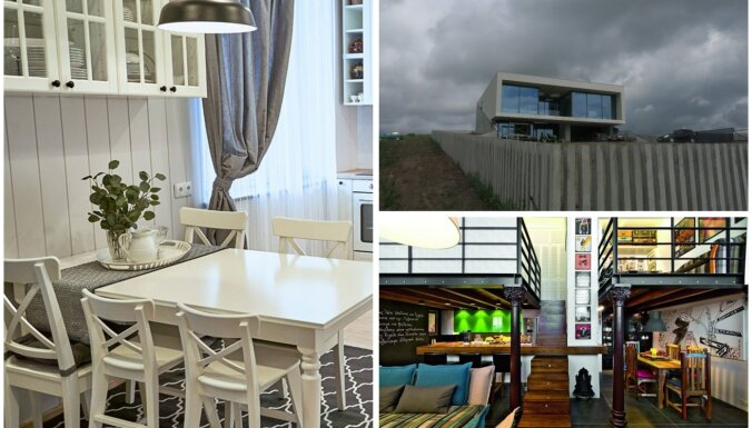Grezni mājokļi un iespaidīgas telpu pārvērtības: ievērības cienīgas mājvietas Lietuvā