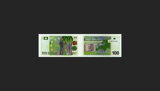 100 eiro banknote