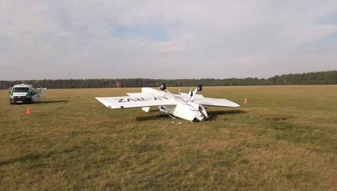 Крушение самолета в Литве: оба пилота госпитализированы