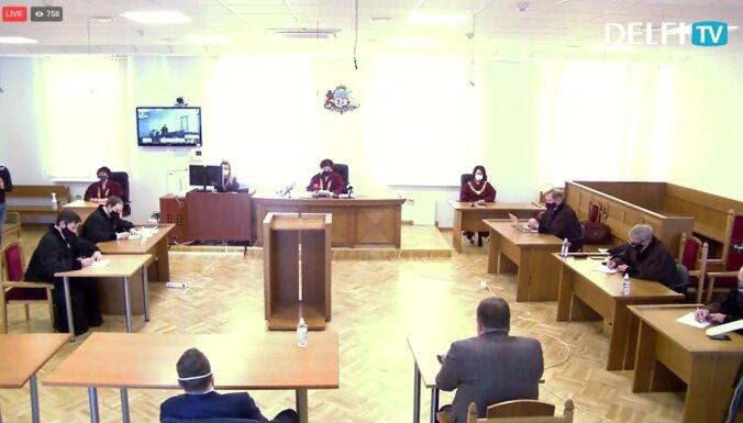 Video: Tiesa skaidro spriedumu Lemberga krimināllietā