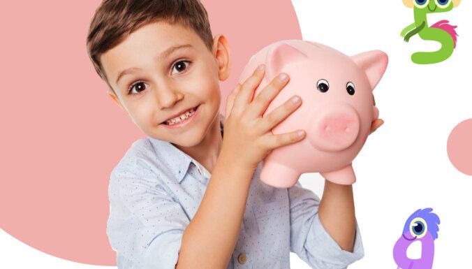 Pirmos soļus naudas pasaulē bērniem šovasar palīdzēs spert nometne 'Mazais finansists'