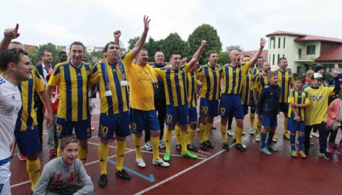 Foto: Futbola klubs 'Ventspils' svin 20 gadu jubileju