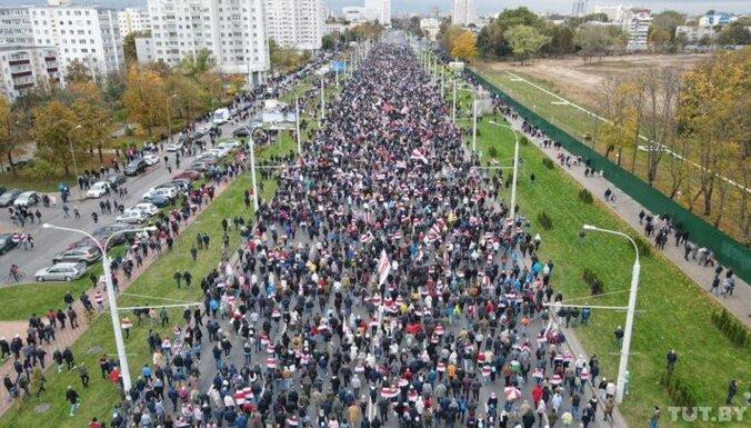Милиция на акции в Минске открыла стрельбу резиновыми пулями