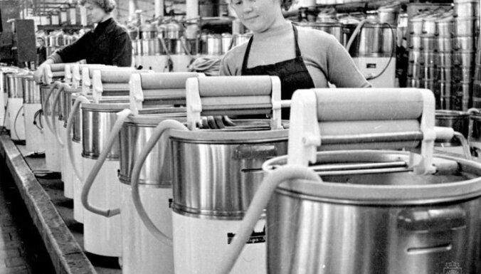 Arhīva foto: Kādas savulaik bija veļas mašīnas un mazgātavas