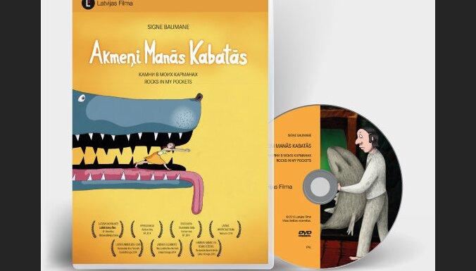 DVD formātā izdotas filmas 'Akmeņi manās kabatās' un 'Modris'