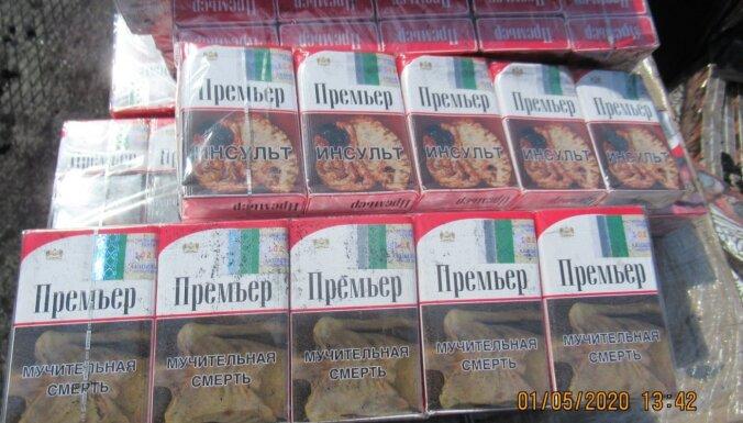 Таможенники и пограничники на выходных изъяли почти полмиллиона контрабандных сигарет