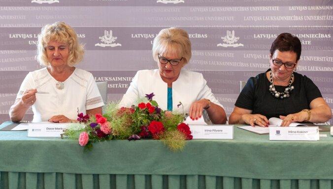 Trīs Latvijas universitātes izveido konsorciju