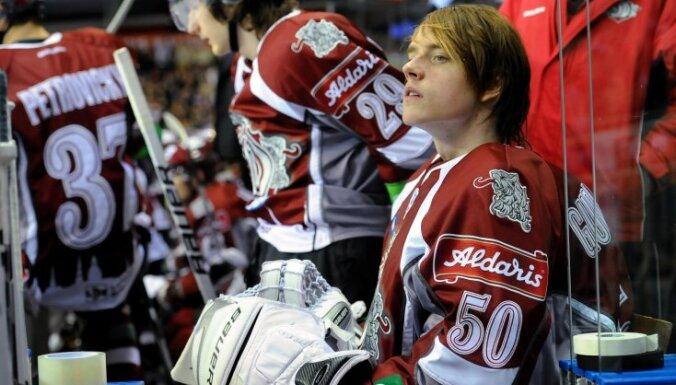 Rīgas 'Dinamo' treniņnometni Valmierā pametuši četri hokejisti