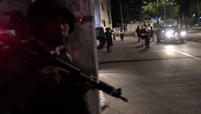 Meksikā reģistrēts lielākais slepkavību skaits pēdējo desmitgažu laikā