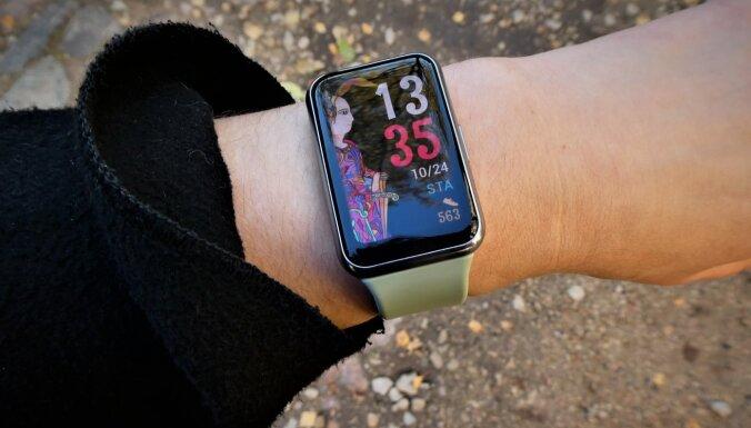 Personīgais asistents uz goda – 'Huawei' viedpulkstenis 'Watch Fit'
