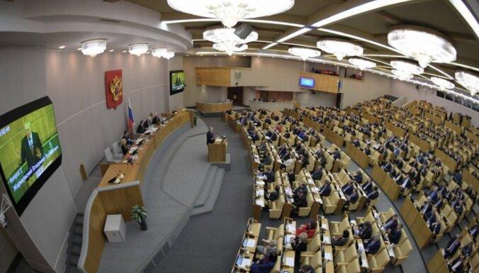 Mācības tikai latviski: Krievijā aicina īstenot ekonomiskus pasākumus pret Latviju