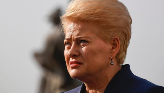 """Грибаускайте """"отчасти поддерживает"""" требования Трампа к союзникам по НАТО"""