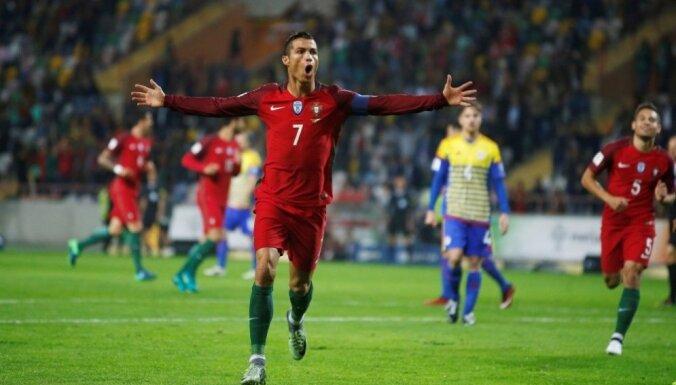 Роналду — в списке кандидатов в сборную Португалии на матч в Риге
