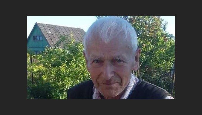 Olaines pagastā pazudis 93 gadus vecs vīrietis