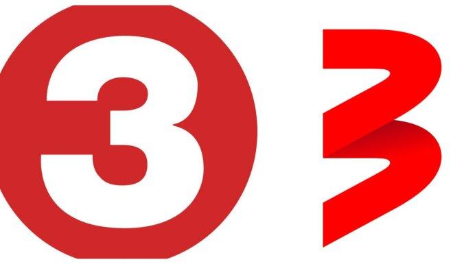 Televīzijas skatītājus mulsina kanāla TV3 jaunais logo