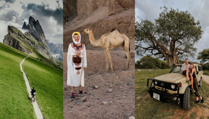 Uz Āfriku, Tatriem vai Latgali: iedvesmojoši ceļotāju un aktīvās atpūtas piekritēju stāsti