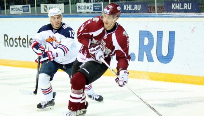 Noraidījumi iegāž Rīgas 'Dinamo' spēlē pret Magņitogorskas 'Metallurg'