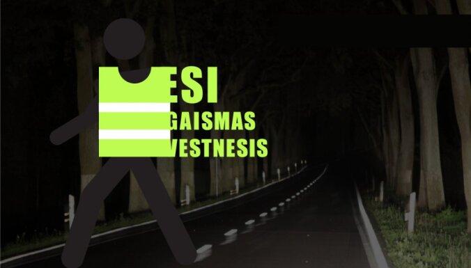 """""""Будь послом света!"""": латвийцам раздадут 20 000 светоотражающих жилетов"""