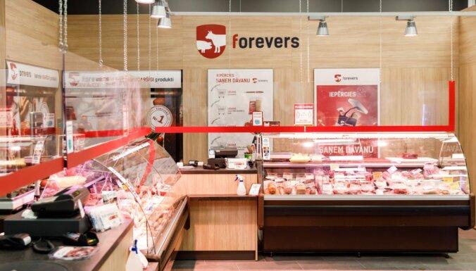 Производитель мясной продукции Forevers открыл сотый магазин в Латвии