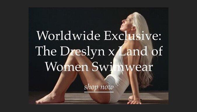 ФОТО: Модель в 61 год снялась в рекламе купальников