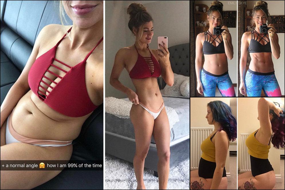 """10 фальшивых фото """"до"""" и """"после"""" фитнеса навсегда отучат верить в такие сравнения"""