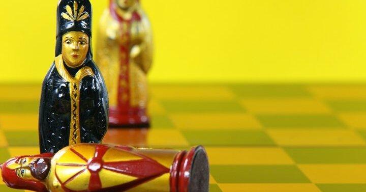 Украинцы придумали шахматы на троих