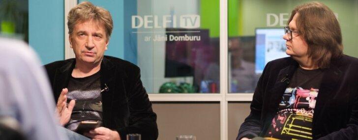 'Delfi TV ar Jāni Domburu' – atbild Aigars Grauba un Andrejs Ēķis. Pilna intervija