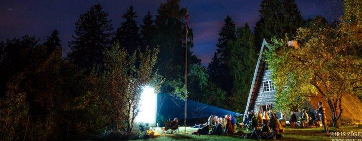 Augustā un septembrī Imanta Ziedoņa muzejā notiks brīvdabas kino vakari